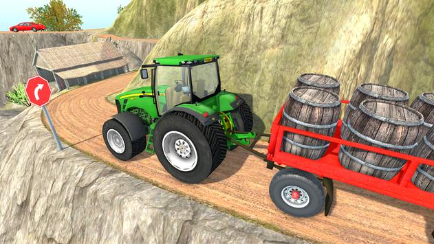 Tractor Trolley Cargo Farming Simulator 2019 Game screenshot 2