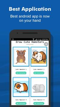 How to Draw 40+ Cute Hamster Step by Step Offline screenshot 1