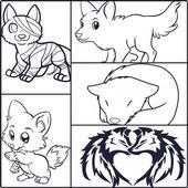 How To Draw Wolves icon