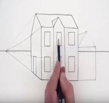 Drawing Modern House Step By Step screenshot 3