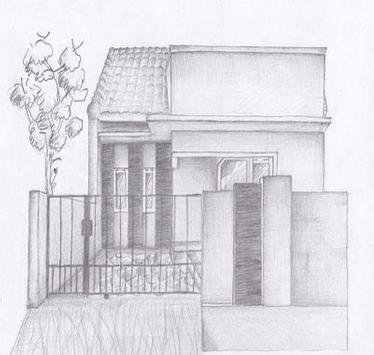 Drawing Modern House Step By Step screenshot 5