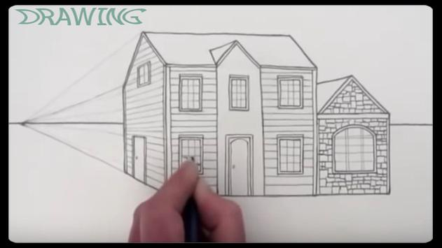 Drawing Modern House Step By Step screenshot 6
