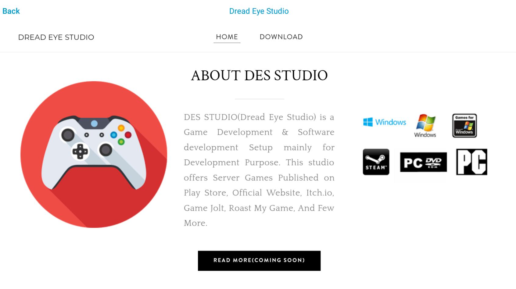 DreadEye Studio Application for Android - APK Download