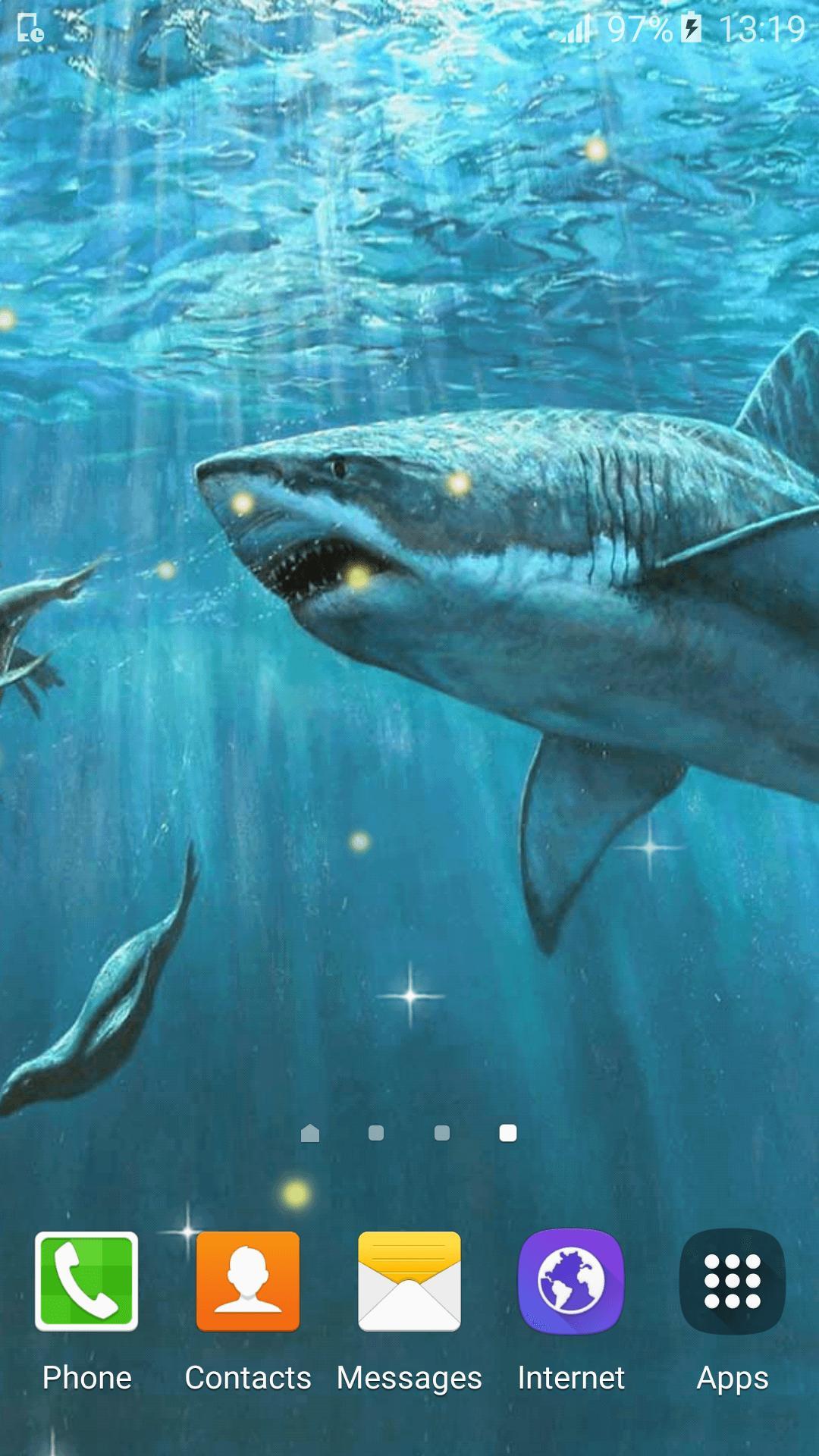 Android 用の ライブ壁紙サメ Apk をダウンロード