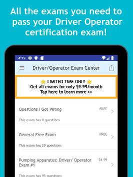 Driver Operator Exam Center: Pumping Apparatus screenshot 8