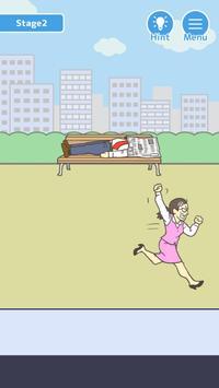 Skip work! -escape game poster