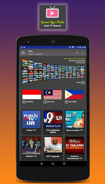 World TV - Watch TV Live for Android - APK Download