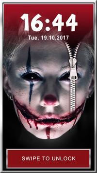 Evil Clown Phone Lock App screenshot 4