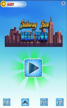 Subway Run: Mega Town poster