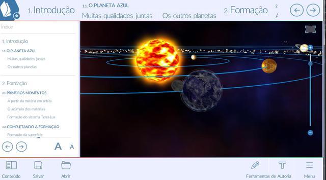 Viagem ao Sistema Solar poster