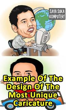 Example Design Of The Most Unique Caricature poster