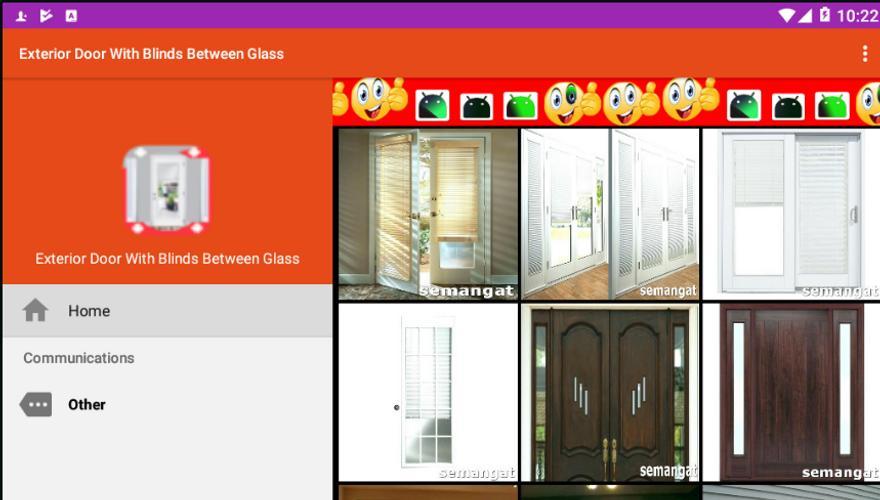 Exterior Door With Blinds Between Glass For Android Apk Download