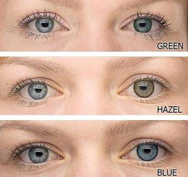 Eye Contact Lenses Color poster