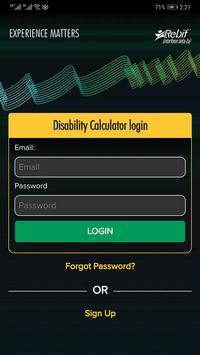 Disability Calculator screenshot 1