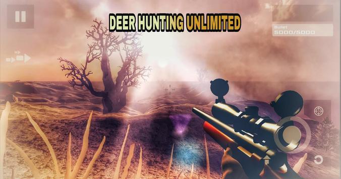 Deer Hunting Unlimited Free تصوير الشاشة 3