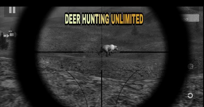 Deer Hunting Unlimited Free تصوير الشاشة 1