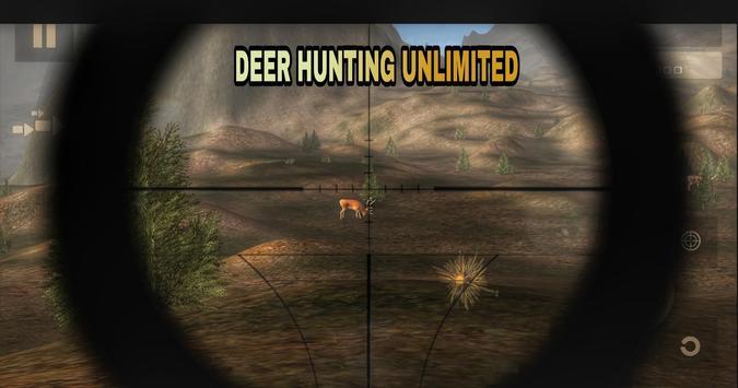 Deer Hunting Unlimited Free تصوير الشاشة 7