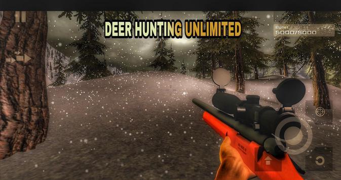 Deer Hunting Unlimited Free تصوير الشاشة 4