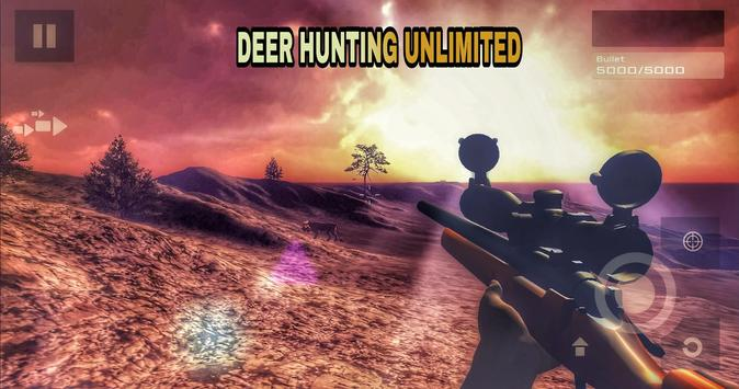 Deer Hunting Unlimited Free تصوير الشاشة 5