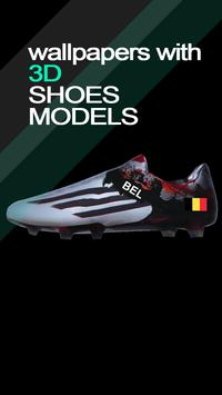 Custom Futbol Shoe poster