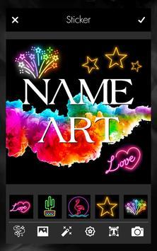 Smoke Effect Name Art Maker Editor screenshot 1
