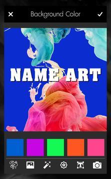 Smoke Effect Name Art Maker Editor screenshot 2