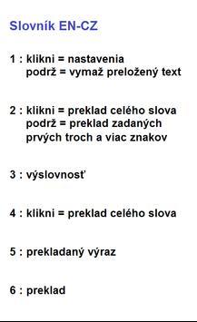 E_Dict_ENsk Slovník Anglicko - Slovenský screenshot 3
