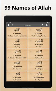 12 Schermata 99 Names of Allah with Meaning and Audio