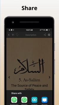 3 Schermata 99 Names of Allah with Meaning and Audio