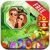 Easter Photo Frame 2020 : Happy Easter icon