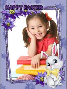 Easter Photo Frame 2020 : Happy Easter poster