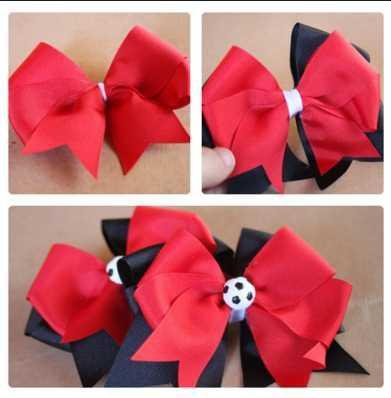 How to make a paper Bow/Ribbon/Make Simple Easy Bow, DIY, Ribbon ... | 398x391