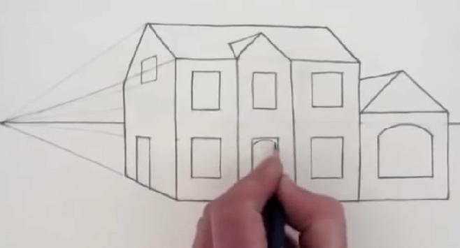 Easy Steps To Draw Architectural Design screenshot 3