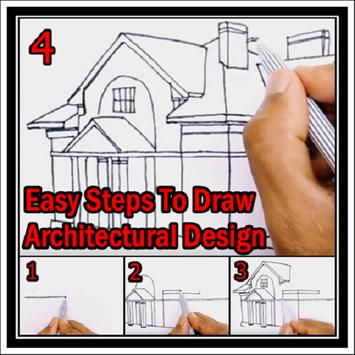 Easy Steps To Draw Architectural Design poster