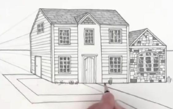 Easy Steps To Draw Architectural Design screenshot 7
