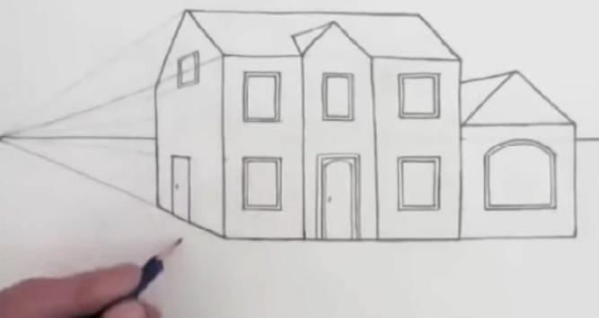 Easy Steps To Draw Architectural Design screenshot 4