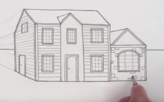 Easy Steps To Draw Architectural Design screenshot 6