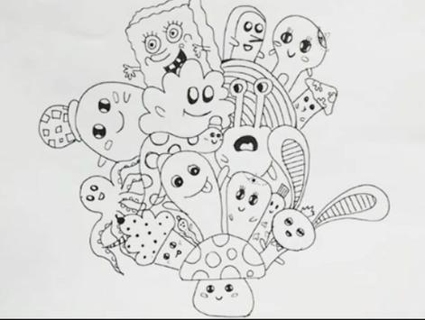 Easy Steps to Draw Doodle Art screenshot 6
