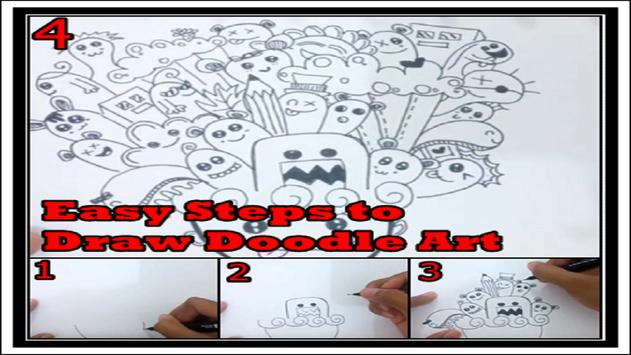 Easy Steps to Draw Doodle Art screenshot 8