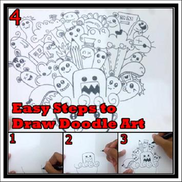 Easy Steps to Draw Doodle Art poster