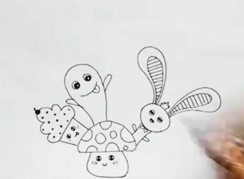 Easy Steps to Draw Doodle Art screenshot 2