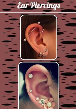 Ear Piercings poster