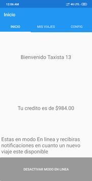 Taxi Central MX - Conductores screenshot 1