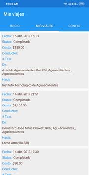 Taxi Central MX - Conductores screenshot 2