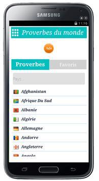 Proverbes du monde Ekran Görüntüsü 6