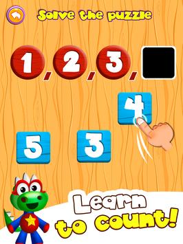 Preschool learning games for kids: shapes & colors screenshot 1