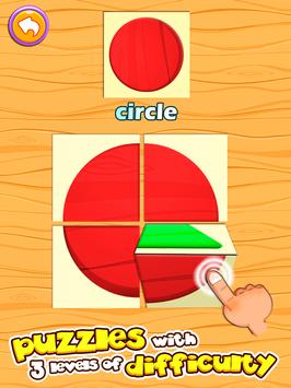 Preschool learning games for kids: shapes & colors screenshot 20