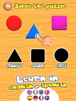 Preschool learning games for kids: shapes & colors screenshot 7