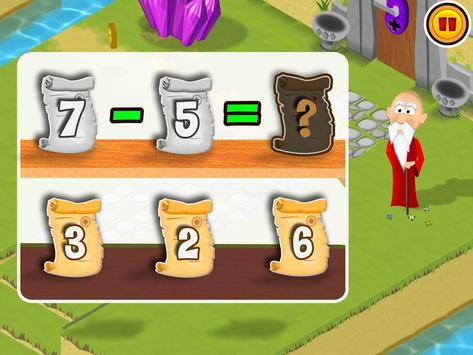 Math Land:心算、加法和減法遊戲 截圖 3