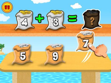 Math Land:心算、加法和減法遊戲 截圖 5
